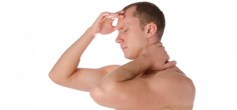 Neck problem related headache