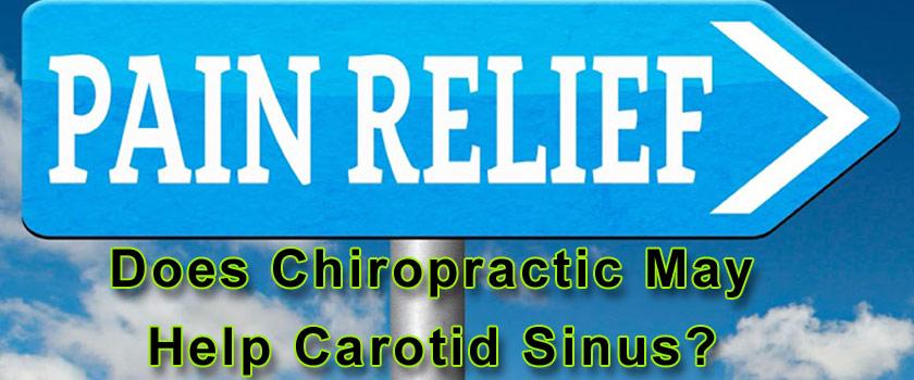 Chiropractic May Help Carotid Sinus