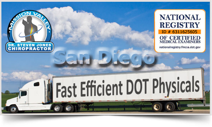 DOT Physical San Diego | What to Expect