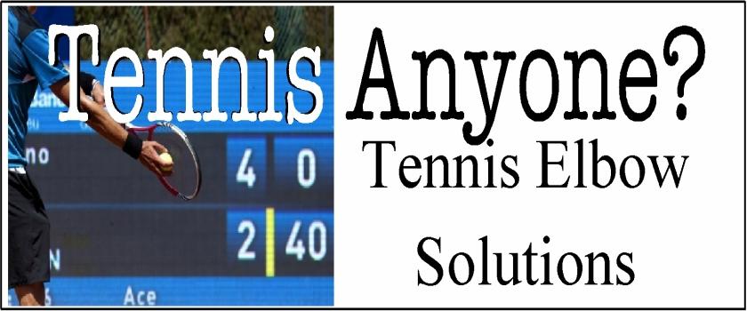 Tennis Elbow – Conservative, Effective Treatment