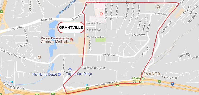 Grantville, San Diego, CA