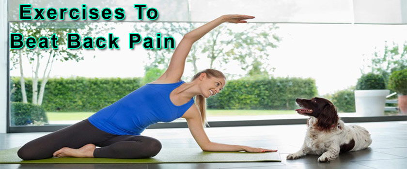 Simple Exercises To Beat Back Pain